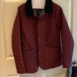 Barbour quilted Annandale jacket in maroon